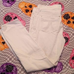 Suoer cute white jeans